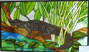 "alligator 321/2"" x 19 1/4"""